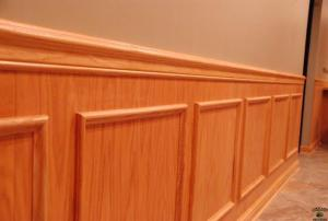 Chair Rail and Wall Panels