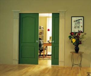 Decorative Adjacent Door Columns