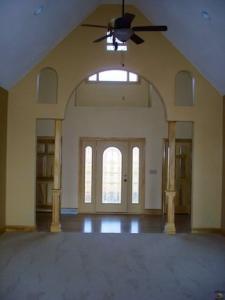 Decorative Arch Entryway Posts