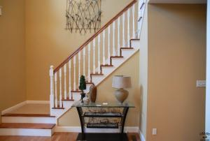 Painted Balusters and Stringers