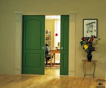 Decorative Adjacent Door Columns
