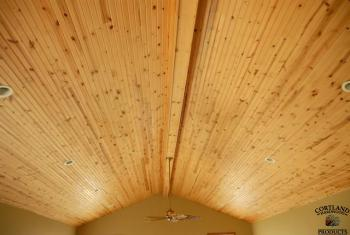 Knotty Pine Ceiling