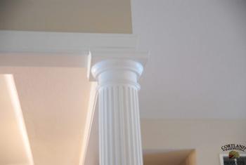 Round Fluted Column